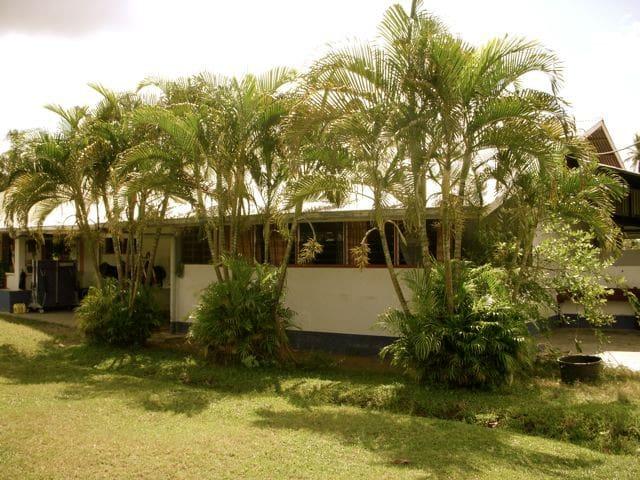 Logeren op  Surinaams platteland!