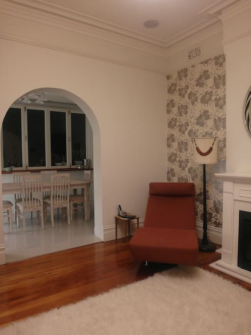 Living Room through to Dining Room