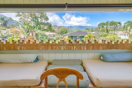 Ohana House: Steps away from the Beach~Hanalei Town~Special Clean & Disinfecting
