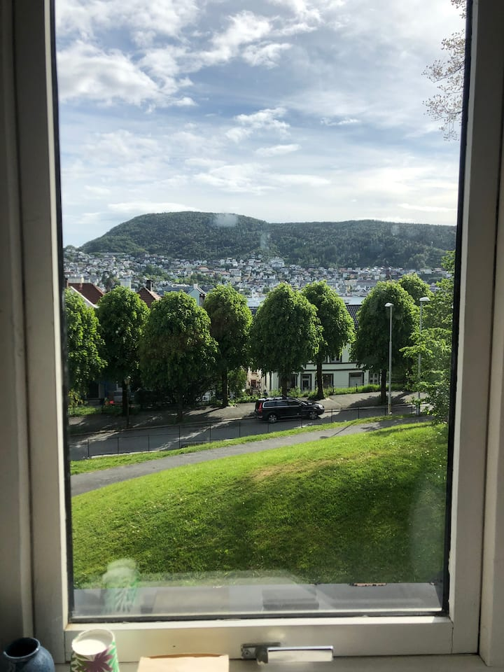 Room with a view in beautiful Nordnes