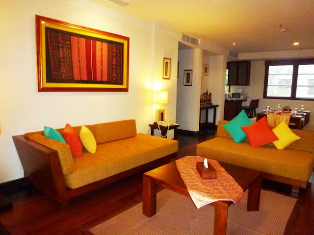 NUSA DUA LUXURY 2 BEDROOM APARTMENT - South Kuta - Departamento