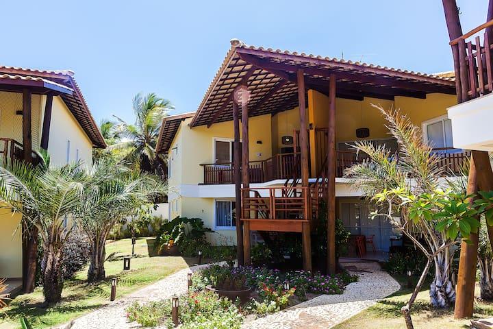 Apt. Villaje de 116 m2 com 3 suítes - Camaçari - Apartment