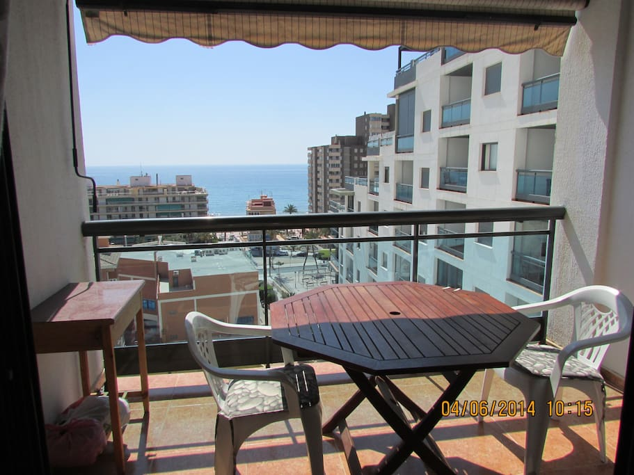 Our lovely terrace and views