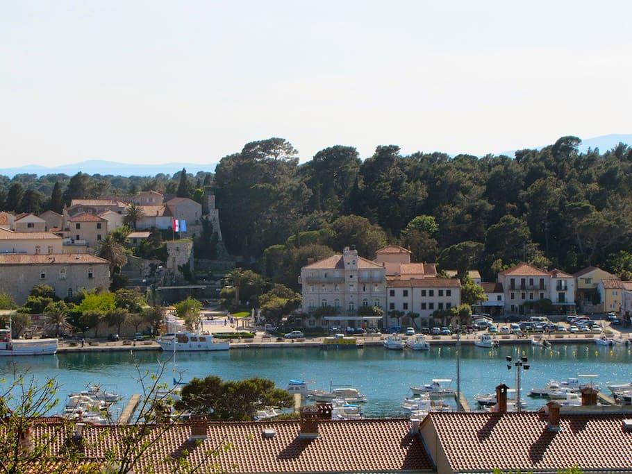main port of Rab