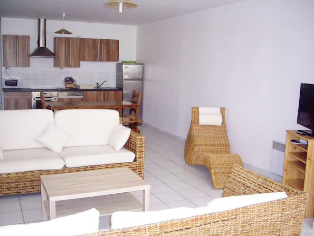 Spacious accommodation Seaside 10pr - Saint-Brevin-les-Pins - Apartamento