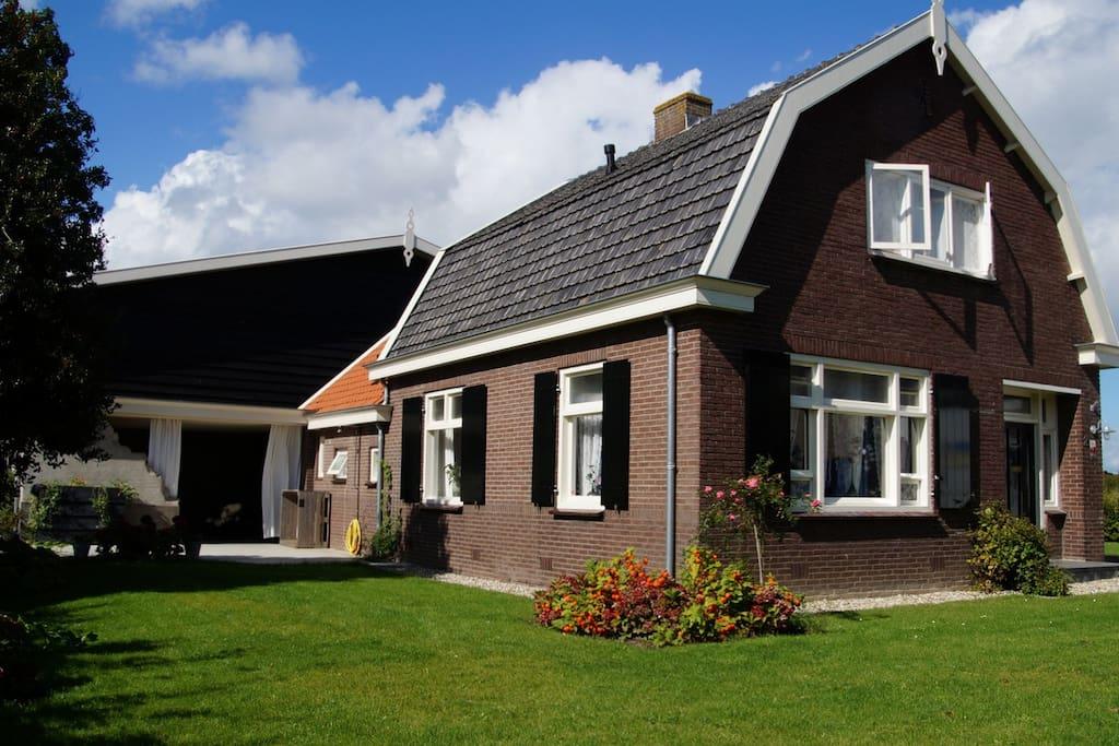 Romantische woonboerderij met stallen en weiland for Woonboerderij te huur achterhoek