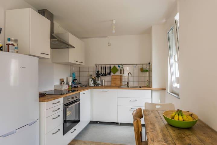 Große helle 2 Zimmer Küche Bad Balkon Wohnung 50m²