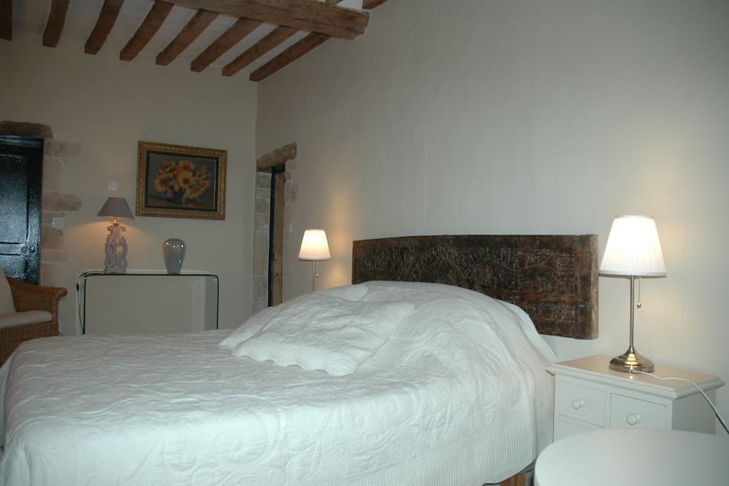 A peaceful night's sleep with plenty of space and ensuite wc and shower