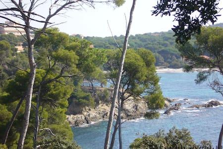 Joli T1 vue mer au coeur du village - Hyères - Huoneisto