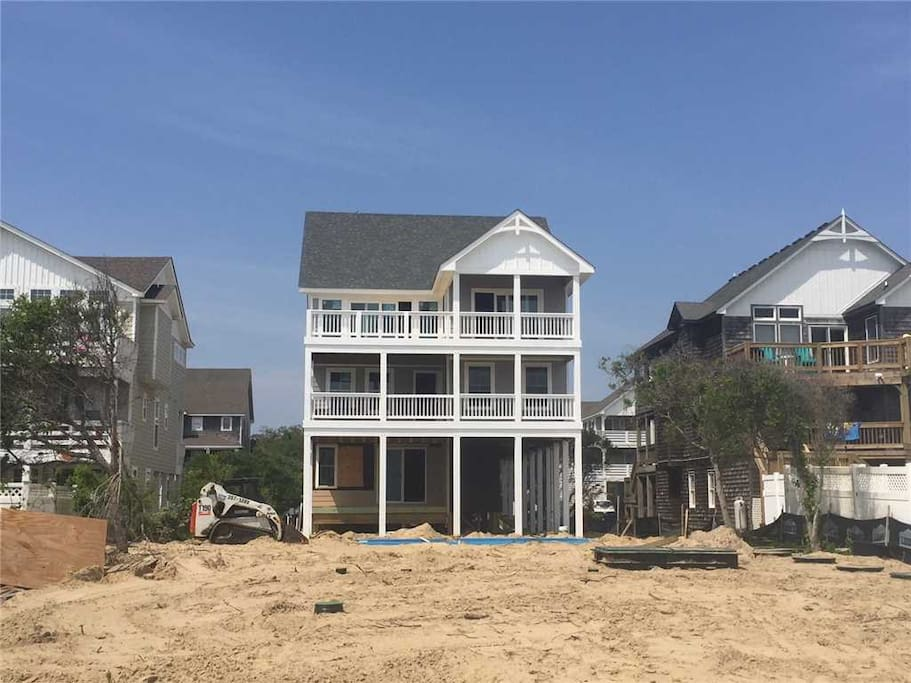 JR105:  Toes In The Sand    Construction Progress as of 5/18/18