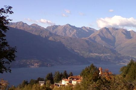 A  charming cottage above Como Lake - Bellano - Cabane