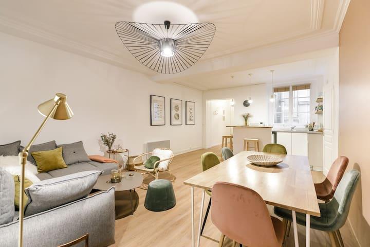 Fabulous family apartment in the centre of Paris!