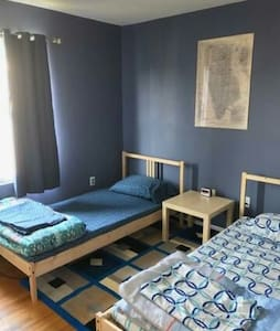 Budget room near airport mintues to NYC - Newark - Apartment