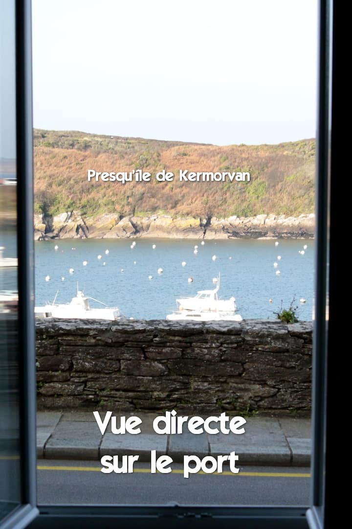 Appartement 2 pers direct sur le Port du Conquet