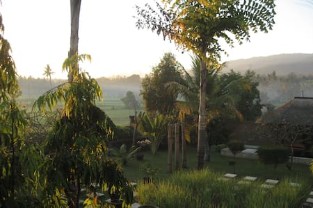 Room with gorgeous ricefield views - Buleleng