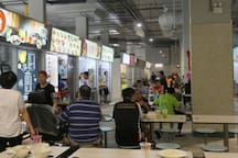 Marsiling Mall Hawker Centre (1 to 2 minutes'  walk from the apartment) with 100+ hawker stalls serving delicious Singapore food at low prices. You can find a Burger King and a huge Sheng Siong supermarket here too.