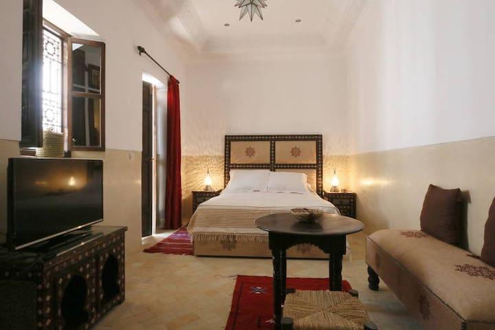 Riad a Marrakech Chambre Alwazzan
