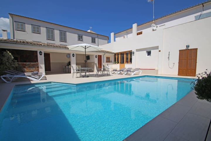 Casa Es Rafal - Large pool- AireAcond- Barbecue