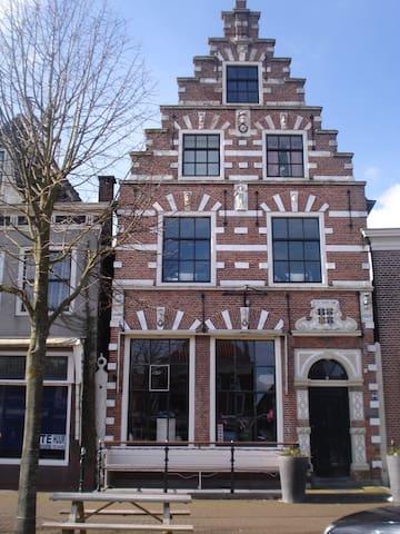 Coggehuis in oude binnenstad, Rijksmonument