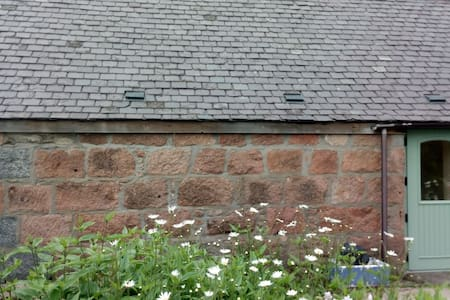 2 bed cottage in old converted granite steading