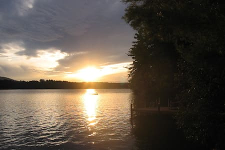 Cottage on Scenic Highland Lake - Bridgton - Cabin