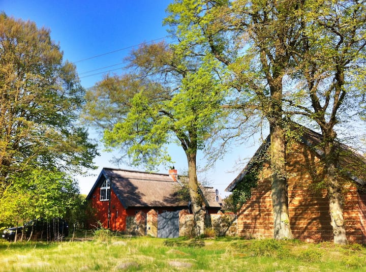Secluded, old farm