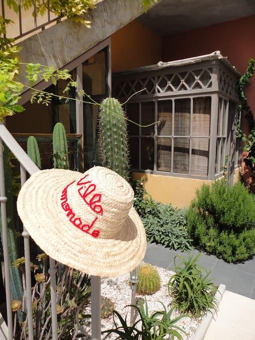 jardin de la Villa Limonade
