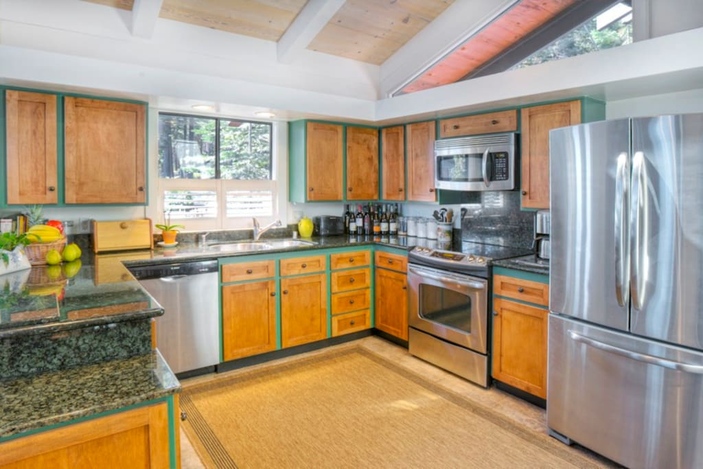 Remodeled Chefs Kitchen