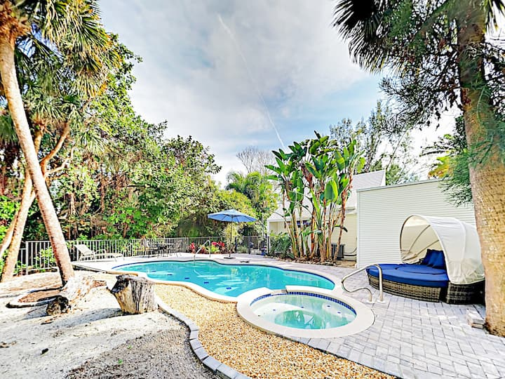 Sanibel Island Gem with Resort-Style Pool & Spa
