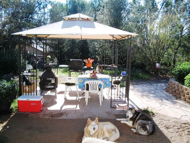 Private Suite at Organic Goat Farm - Ramona - House