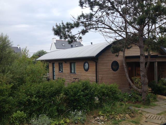 Maison neuve en bois 50m de la mer