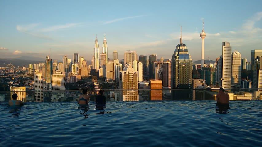 Amazing view studio at Regalia Residence - Kuala Lumpur - Appartement