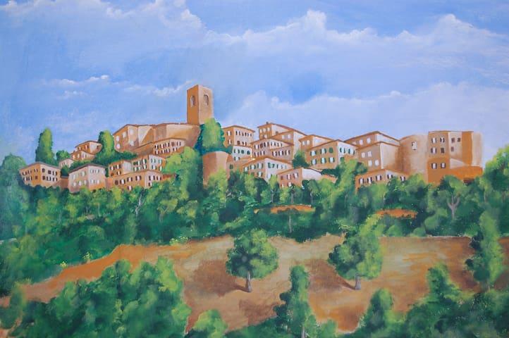 LA CASINA DI BRULLI.... in Toscana - Casole d'Elsa