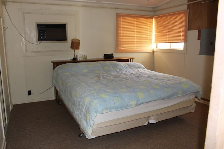 Master Bedroom--king bed