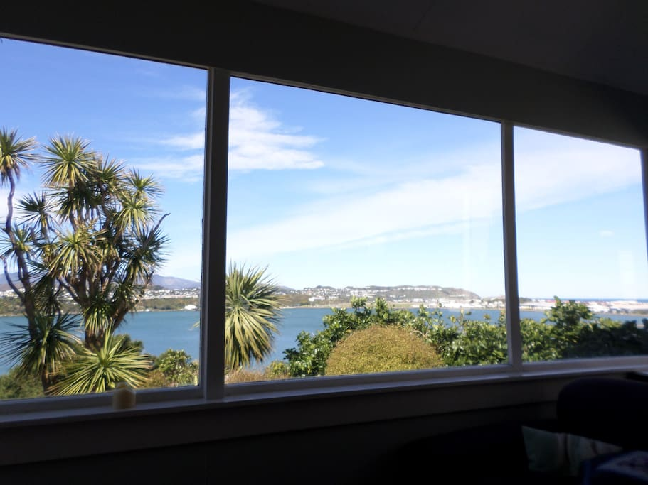 This is the view from the living area. You might spend all day here!