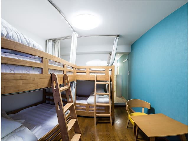 【RiniaHostel-Nagoya】Room for 4 people
