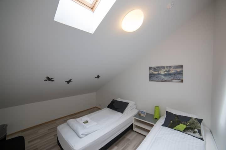 Blabjorg Guesthouse: Standard double/twin room