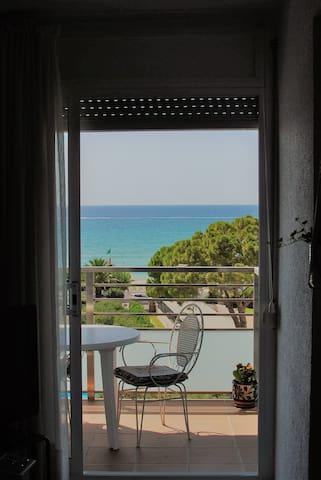 Apartamento en frente de la playa de Altafulla.