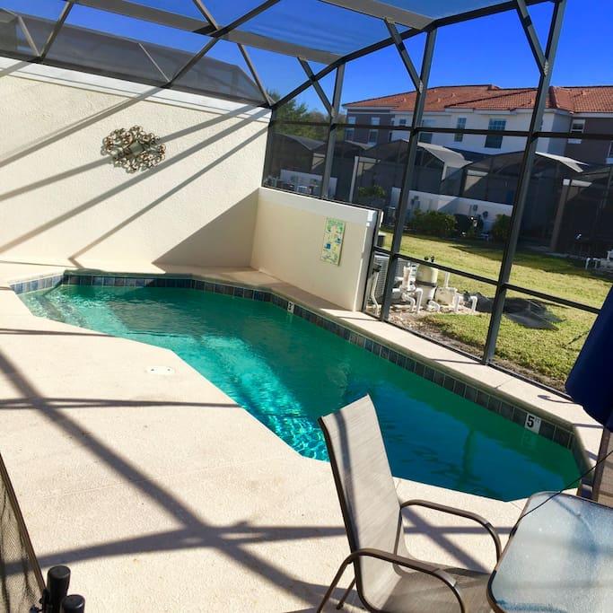Patio / Private Pool