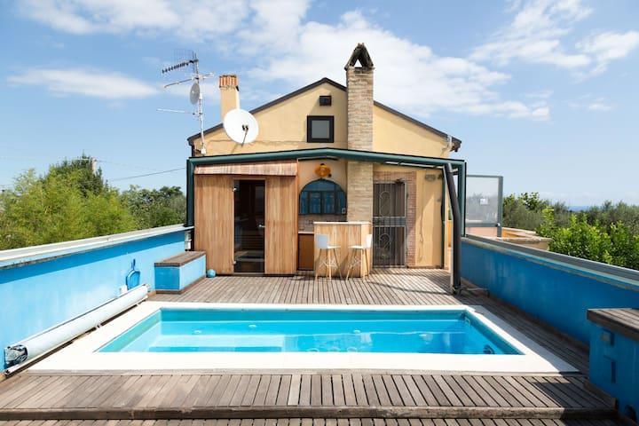 - VILLA ADRIA - Unique maison dans la nature