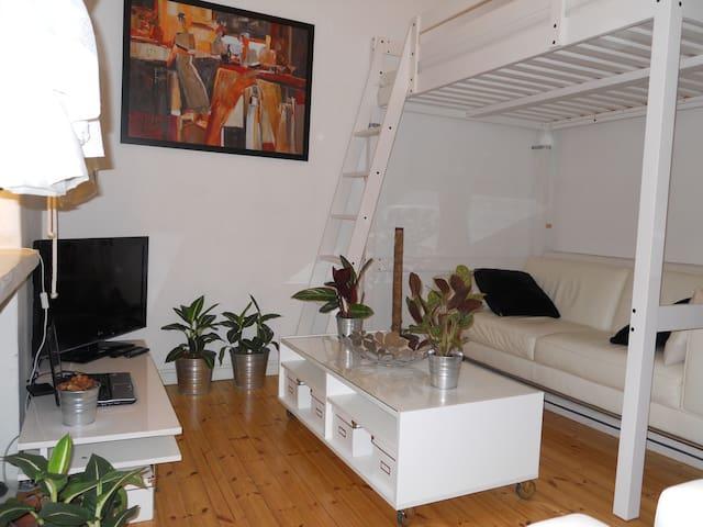 Studio for sharing In Kamppi - Helsinki - Appartement