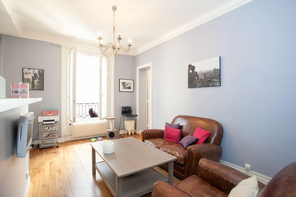 Cute cosy 2 rooms montparnasse apartments for rent in paris le de f - Airbnb paris montparnasse ...
