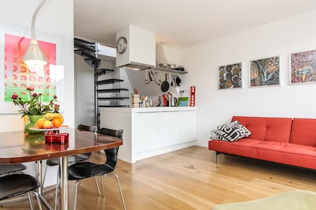 spacious, bright and luxury on top! - Amsterdam - Apartment