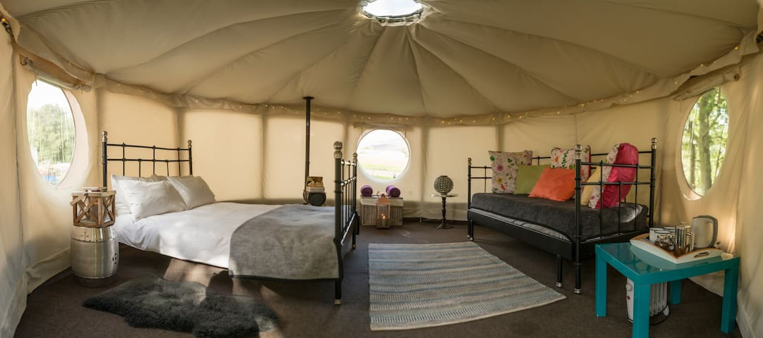 Yurt Hire in The Yorkshire Dales - Appletreewick - Yurt