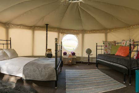 Yurt Hire in The Yorkshire Dales - Appletreewick - Rundzelt