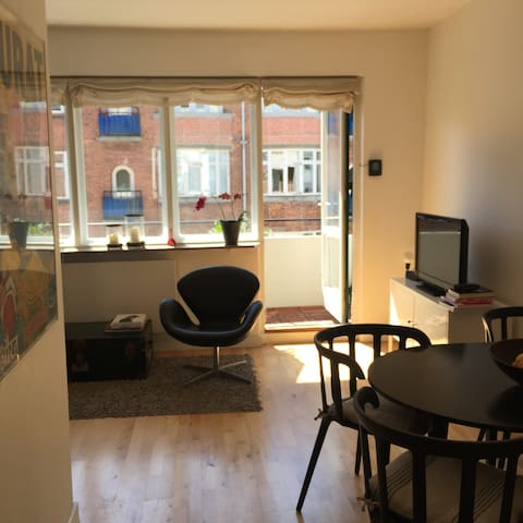 sunny, cozy 1 bedroom with large balcony