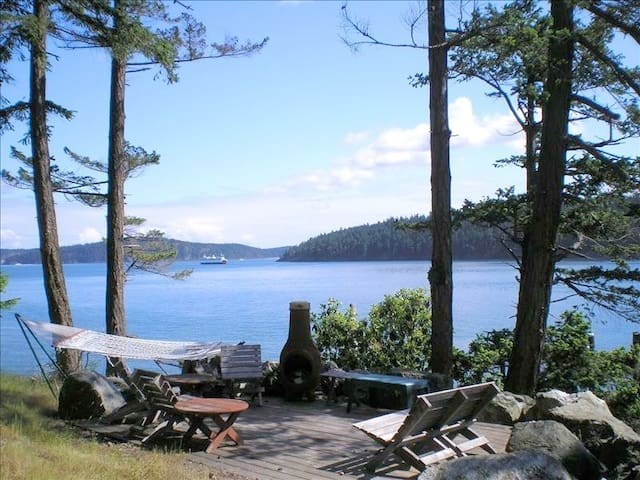 Orcas Island Waterfront Home - Orcas - Dom