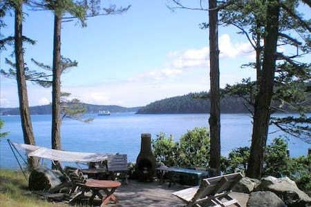 Orcas Island Waterfront Home - Orcas