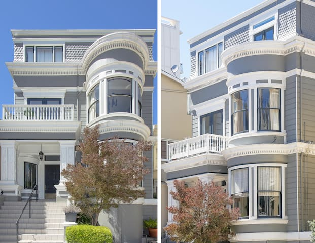Edwardian Style Pacific Heights 1BD