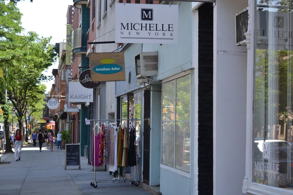 shopping for all kind of stuff is right around the corner on Atlantic Avenue. It also has some great restaurants
